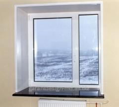 Doppelt verglaste Balkon