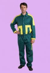 Одежда защитная, рабочая, военная
