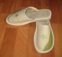 Обувь домашняя женская, тапочки