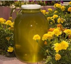Honey from flowers of a linden