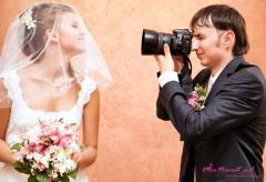 Фото и видео услуги на свадьбу