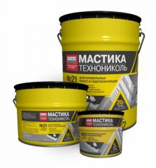 Mastic roofing TEKHNONIKOL No. 21 (Tekhnomast)