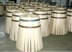 Klepka barrel for enrichment of cognac for expor