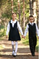 Форма школьная для девочек и мальчиков