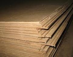 Плиты древесноволокнистые, ДВП