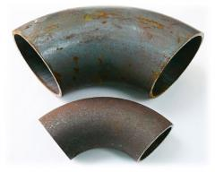 Отводы стальные d.325мм крутоизогнутые 90 град.