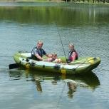 Inflatable boat of NIVA III