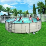 Capacious pool