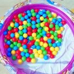 Set of plastic spheres BestWay