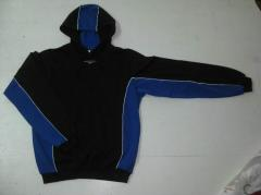 Body shirts (sweatshirts) with a hood, a pocket of