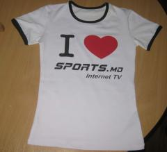 T-shirts, undershirts with your symbolics