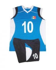 Волейбольная форма с коротким рукавом