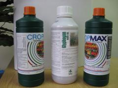 Various chemical means of protection of plants