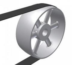 Crankshaft pulleys
