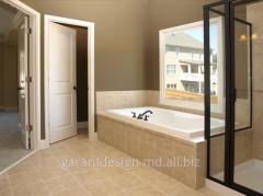 Ремонт в ванной комнате в Молдове