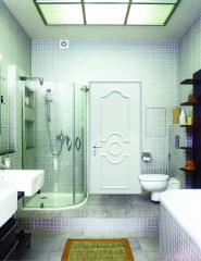Межкомнатные двери для ванны и туалета в...