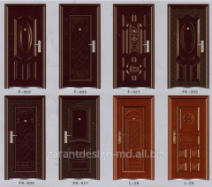Doors metal in Moldova.