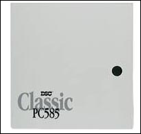 Security and fire control DSC PC 585 H/P-432 panel