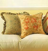 Cushions with stuffing from fibers, the Pillow