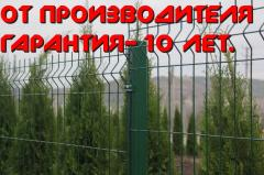 Eurofences from a galvanized wire - from the