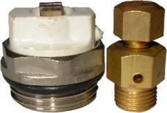 Кран Маевского для спуска воздуха из приборов системы отопления.
