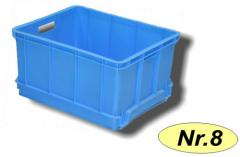 Boxes are plastic