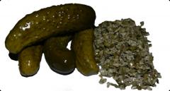 Dried salty ogureets