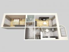 Квартиры 2-х комнатные