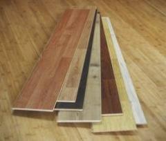 Laminate (the floor laminated) of moisture