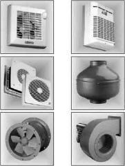 Вентиляторы и системы вентиляции