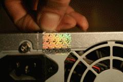 Голограммы с пломбирующими свойствами