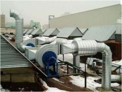 Систем вентиляции и отопления