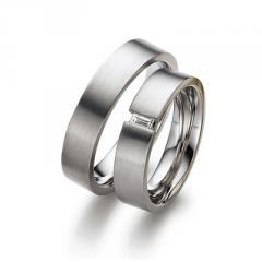 Кольца обручальные серебряные