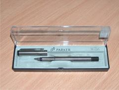 РУЧКИ PARKER VECTOR STAINLESS STEEL