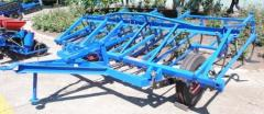 Cultivator for continuous processing of the soil (CPS-4)