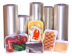 Stretch films for packaging of foodstuff