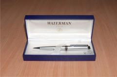 Престижные ручки Parker и Waterman со скидкой -10%