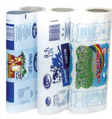 Polyethylene packaging for dairy products