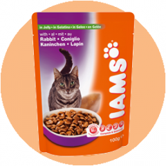 IAMS Adult Rabbit in jelly