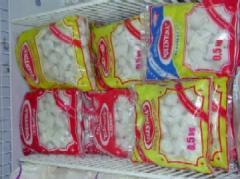 Полиэтиленовая упаковка для хранения замороженных