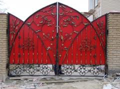 Porţi metalice