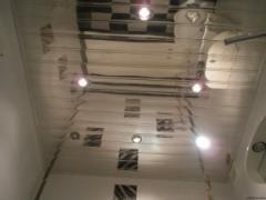 Ceilings are rack mirror