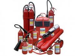 Многоразовые огнетушители всех типов