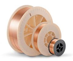 Copperplated wire