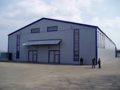 Hangare de utilaje/ Здания и сооружения складские