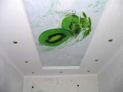 УФ печать на натяжном потолке. Разрешение