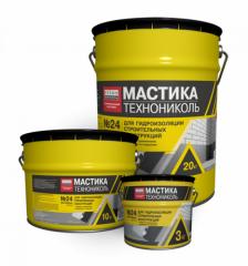Mastic waterproofing TechnoNIKOL No. 24(MGTN)