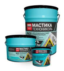 Mastic roofing and waterproofing TechnoNIKOL No.