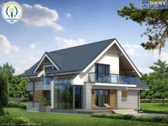Frame houses in Moldova