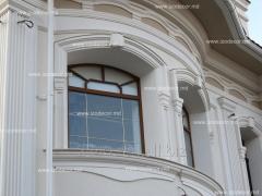 Фасадные декоративные элементы из пенопласта